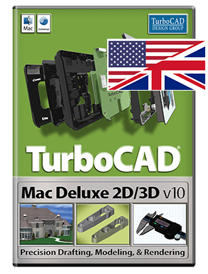 Cover TurboCAD Deluxe 2D/3D