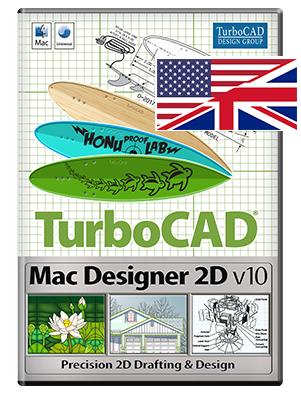 Cover TurboCAD Mac Designer 2D