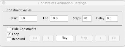 2D-Bemaßungen und Constraints