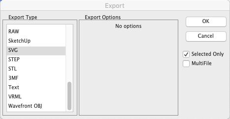 SVG-Import/Export